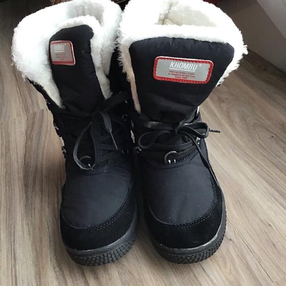 Memory Foam Faux Fur Winter Boots Sz 9m